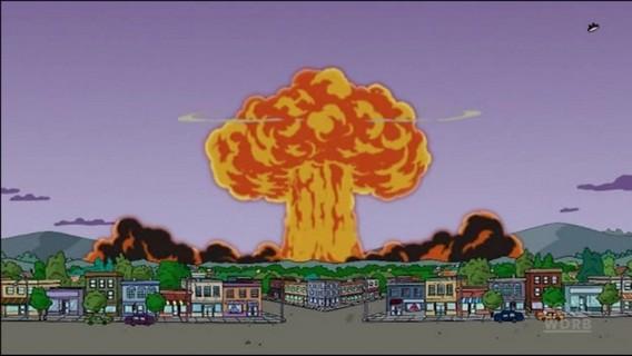 Ядерный взрыв. Спрингфилд. Симпсоны