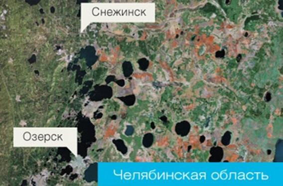 Челябинская АЭС месторасположение