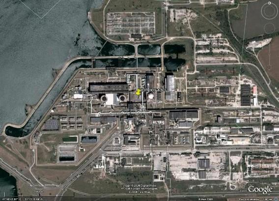 Южноукраинская АЭС фото спутник