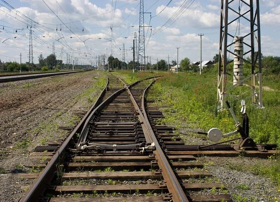 Железная дорога раздвоение