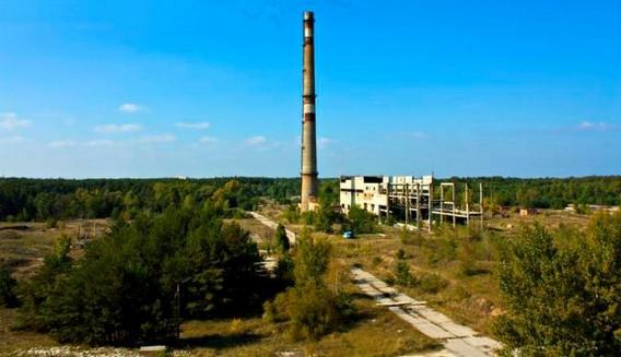 Заброшенная Чигиринская АЭС