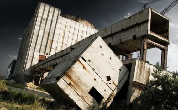 Заброшенная Крымская АЭС фото