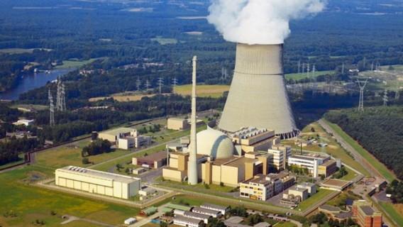 Закрытая АЭС Линген. Германия. Фото
