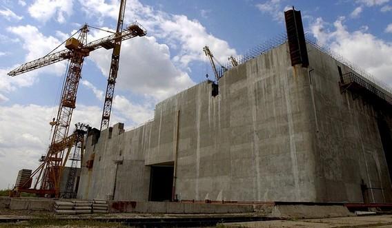 Закрытая АЭС Белене. Болгария. Фото