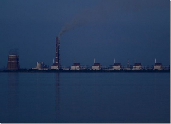 Запорожская АЭС фото