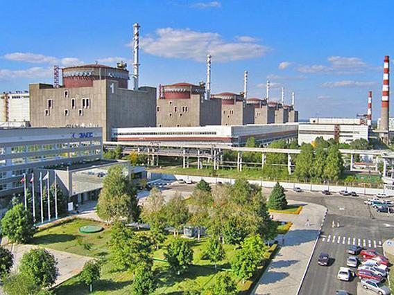 Запорожская АЭС 2014. Фото